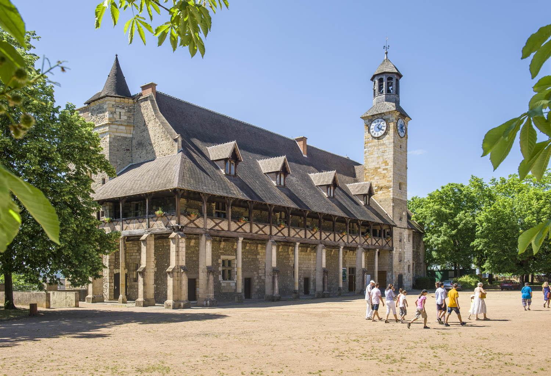 Charroux (Карру), Овернь, Франция