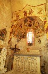 Eglise peinte de Saulcet © Rémy Lacroix