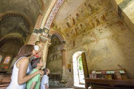 Eglise peinte Saint-Martin de Jenzat © Luc OLIVIER