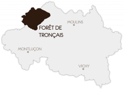 Carte de l'Allier © CDT Allier