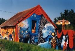 La maison couleurs du temps © CDT Allier
