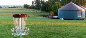 Disc-golf de Target © Domaine des Grandes Côtes