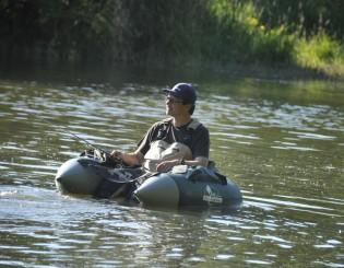 Emmanuel Bizel, guide de pêche