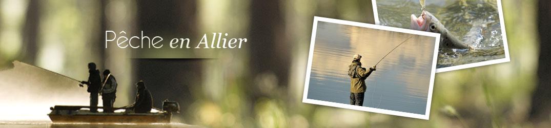 Les hébergements pêche de l'Allier