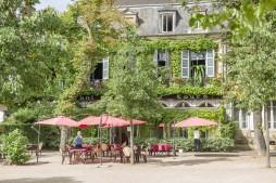 Restaurant des Cours Moulins © Luc Olivier