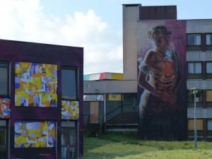 Street Art City - Lurcy-Lévis © CDT Allier