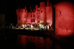 Son et Lumières château Augère Jehanne d'Arc © Château de l'Augère