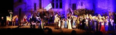Son et lumières au château de l'Augère