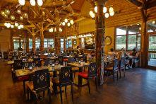 restaurant le Tanganyka - les lodges du PAL
