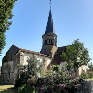 L'église au clocher tors