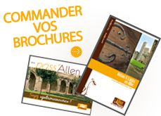 brochures Allier Tourisme