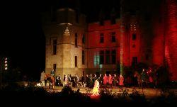 Son et lumières au château de l'Augere © Chateau de l'Augère - Agonges