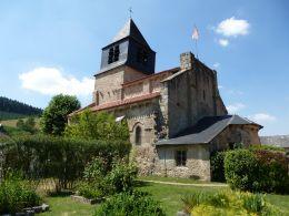 Eglise Saint-Léger d'Arronnes © Cécile Basseville