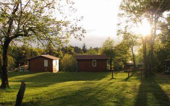 Camping des Myrtilles Allier © Camping des Myrtilles