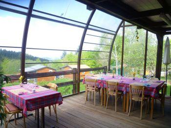 Restaurant du Camping des Myrtilles © Camping des Myrtilles