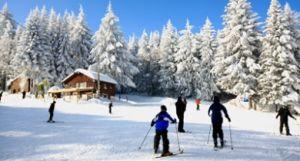 Ski Allier : la loge des gardes © Rémy Lacroix