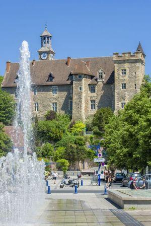 Vue sur le château de Montluçon © Luc OLIVIER / CDT 03
