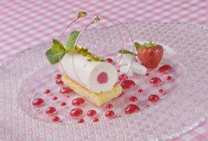 Dessert à la pastille de Vichy © Luc OLIVIER / CDT 03