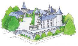 Château de Busset édifice historique dans l'Allier