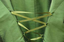 sortie shopping à Vichy - robe verte © Les Enfants d'Edouard