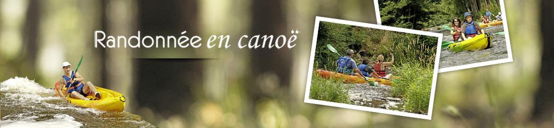 Choisissez votre parcours de canoë !