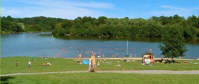 Plan d'eau de Vieure - Lac Allier © Plan d'eau de Vieure
