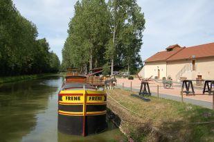 Péniche musée du canal du Berry - Musée Allier © Musée du Canal de Berry